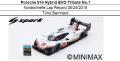 ◎予約品◎1/18 Porsche 919 Hybrid EVO Tribute No.1 Nordschleife Lap Record 06/29/2018 Timo Bernhard