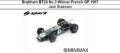 ◎予約品◎1/18  Brabham BT24 No.3 Winner French GP 1967 Jack Brabham