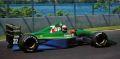 ◎予約品◎ ジョーダン フォード 191 アンドレア・デ・チェザリス カナダGP 1991 4位入賞