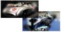 【生産中止】メルセデス AMG ペトロナス W03 N.ロズベルグ中国GPウィナー+W196 J.M.ファンジオ イタリアGPウィナー2台セット