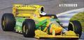 ◎予約品◎ ベネトン フォード B193B ミケーレ・アルボレート バルセロナ テスト 1993年12月15日