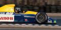 ◆ウィリアムズ ルノー FW13B デイモン・ヒル シルバーストーン F1テスト 3月19日 1991