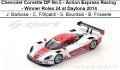◎予約品◎Chevrolet Corvette DP No.5 - Action Express Racing  - Winner Rolex 24 at Daytona 2014  J. Barbosa - C. Fittipaldi - S. Bourdais - B. Frisselle