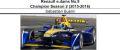 ◎予約品◎ Renault e.dams No.9  Champion Season 2 (2015-2016)  Sebastien Buemi