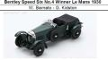 ◎予約品◎ Bentley Speed Six No.4 Winner Le Mans 1930  W. Barnato - G. Kidston