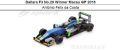 ◎予約品◎ Dallara F3 No.29 Winner Macau GP 2016  Antonio Felix da Costa