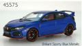 ◎予約品◎ Honda CIVIC TYPE R 2017 Brilliant Sporty Blue Metallic