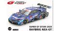 ◎予約品◎ RAYBRIG NSX-GT SUPER GT GT500 2020 No.100