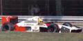 追加受付◎予約品◎ マクラーレン ホンダ MP4/5B アイルトン・セナ エレベーテッド ノーズ コーン  テストカー モンツァ 1990