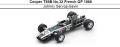 ◎予約品◎ Cooper T86B No.32 French GP 1968 Johnny Servoz-Gavin