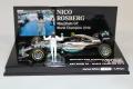 ◆メルセデス AMG ペトロナス フォーミュラ ワン チーム F1 W07 ハイブリッド  ニコ・ロズベルグ ワールドチャンピオン 2016 フィギュア付