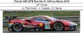 ◎予約品◎ Ferrari 488 GTE Evo No.51 24H Le Mans 2018  AF Corse A. Pier Guidi - J. Calado - D. Serra