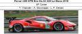 ◎予約品◎ Ferrari 488 GTE Evo No.52 24H Le Mans 2018  AF Corse T. Vilander - A. Giovinazzi - L. F. Derani