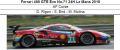 ◎予約品◎ Ferrari 488 GTE Evo No.71 24H Le Mans 2018  AF Corse D. Rigon - S. Bird - M. Molina
