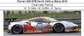 ◎予約品◎ Ferrari 488 GTE No.61 24H Le Mans 2018  Clearwater Racing W. S. Mok - M. Griffin - K. Sawa