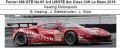 ◎予約品◎ Ferrari 488 GTE No.85 3rd LMGTE Am Class 24H Le Mans 2018  Keating Motorsports B. Keating - J. Bleekemolen - L. Stolz