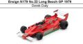 ◎予約品◎ Ensign N179 No.22 Long Beach GP 1979 Derek Daly
