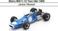 ◎予約品◎ Matra MS11-12 Test Albi 1969 Jackie Stewart