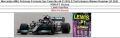 ◎予約品◎ 1/18Mercedes-AMG Petronas Formula One Team No.44 F1 W12 E Performance Winner Russian GP 2021 100th F1 Victory  Lewis Hamilton  With Pit Board