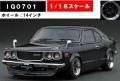 ◎予約品◎1/18 Mazda Savanna (S124A)  Black   (1/18 Scale) ※Watanabe-Wheel