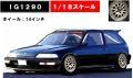 ◎予約品◎1/18 Honda CIVIC (EF9) SiR Black  (1/18 Scale)  ※Weds Type-Wheel