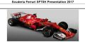 ◎予約品◎1/18 スクーデリア フェラーリ  SF70H Presentation 2017