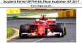 ◎近日入荷予約品◎ スクーデリア フェラーリ  SF70H 4th Place Australian GP 2017  K.ライコネン