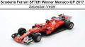 ◎予約品◎1/18 スクーデリア フェラーリ SF70H Winner Monaco GP 2017   S.ベッテル