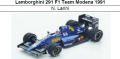 ◎予約品◎1/18Lamborghini 291 F1 Team Modena 1991