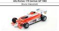 ◎予約品◎ 1/18 Alfa Romeo 179 German GP 1980  Bruno Giacomelli