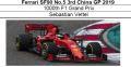 ◎予約品◎ フェラーリ SF90 No.5 3rd China GP 2019 1000th F1 Grand Prix S.ベッテル【MISSION WINNOWデカールの貼り付け・付属無し】