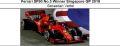 ◎予約品◎1/18 フェラーリ SF90 No.5 Winner Singapore GP 2019 S.ベッテル
