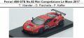 ◎予約品◎ Ferrari 488 GTE No.82 Risi Competizione Le Mans 2017 T. Vilander - G. Fisichella - P. Kaffer
