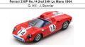 ◎予約品◎ Ferrari 330P No.14 2nd 24H Le Mans 1964 G. Hill - J. Bonnier