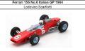 ◎予約品◎ Ferrari 156 No.6 Italian GP 1964 Lodovico Scarfiotti