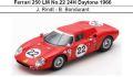 ◎予約品◎ Ferrari 250 LM No.22 24H Daytona 1966 J. Rindt - B. Bondurant