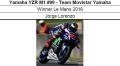 ◎予約品◎ 1/12 Yamaha YZR M1 #99 - Team Movistar Yamaha Winner Le Mans 2016 Jorge Lorenzo