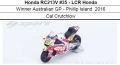 ◎予約品◎ 1/12 Honda RC213V #35 - LCR Honda Winner Australian GP - Phillip Island  2016 Cal Crutchlow