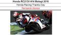 ◎予約品◎ 1/12 Honda RC213V #14 Motegi 2016 Honda Racing Thanks Day F.アロンソ