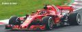 ◎予約品◎1/18 フェラーリ SF71-H スクーデリア フェラーリ キミ・ライコネン  オーストラリアGP 2018