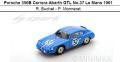 ◎予約品◎Porsche 356B Carrera Abarth GTL No.37 Le Mans 1961  R. Buchet - P. Monneret