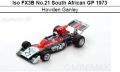 ◎予約品◎ Iso FX3B No.21 South African GP 1973  Howden Ganle