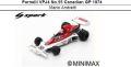 ◎予約品◎ Parnelli VPJ4 No.55 Canadian GP 1974  Mario Andretti