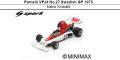 ◎予約品◎ Parnelli VPJ4 No.27 Swedish GP 1975 Mario Andretti