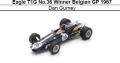 ◎予約品◎ Eagle T1G No.36 Winner Belgian GP 1967 Dan Gurney