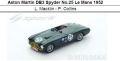 ◎予約品◎Aston Martin DB3 Spyder No.25 Le Mans 1952  L. Macklin - P. Collins