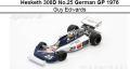 ◎予約品◎ Hesketh 308D No.25 German GP 1976  Guy Edwards
