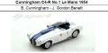 ◎予約品◎Cunningham C4-R No.1 Le Mans 1954  B. Cunningham - J. Gordon Benett