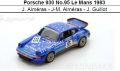 ◎予約品◎ Porsche 930 No.95 Le Mans 1983  J. Almeras - J-M. Almeras - J. Guillot