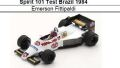 ◎予約品◎Spirit 101 Test Brazil 1984 Emerson Fittipaldi